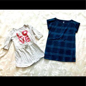 Old Navy Toddler Tunics/Dresses (Bundle of 2)
